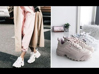 Модные кроссовки 2018, самые стильные кроссовки 👟 Fashionable sneakers, the most stylish sneakers