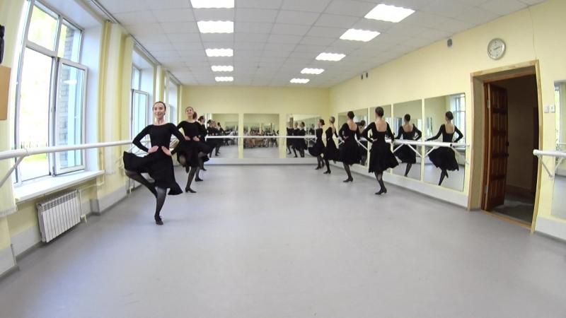 Показ. Народно-сценический танец. 2-й семестр. Часть 4