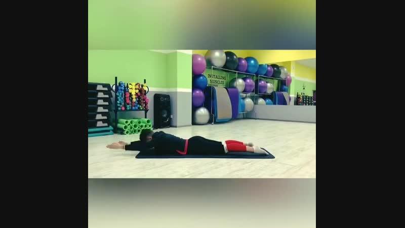Комплекс упражнений для здоровой спины от Ирины Шишовой