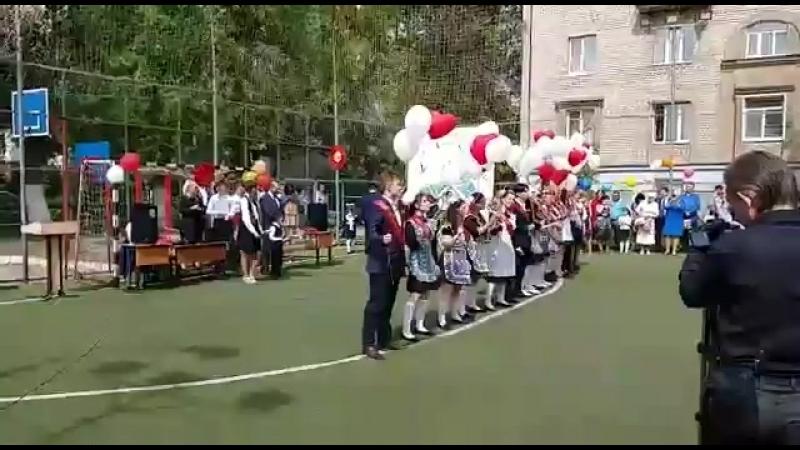 """Самарның """"Яктылык"""" татар мәктәбендә Соңгы кыңгырау-2018."""