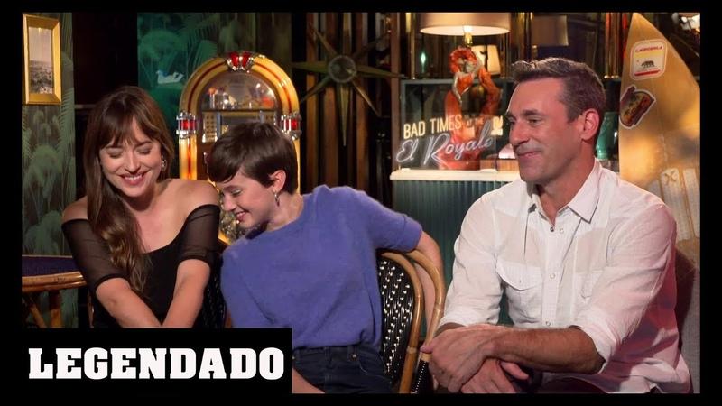 [LEGENDADO] Dakota Johnson, Cailee Spaeny e Jon Hamm - Hollywood First Look Features