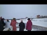 Акция протеста в Нефтеюганске. Он-лайн включение
