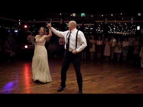 Зал взорвался аплодисментами: отец невесты дал жару на свадьбе дочери - видео