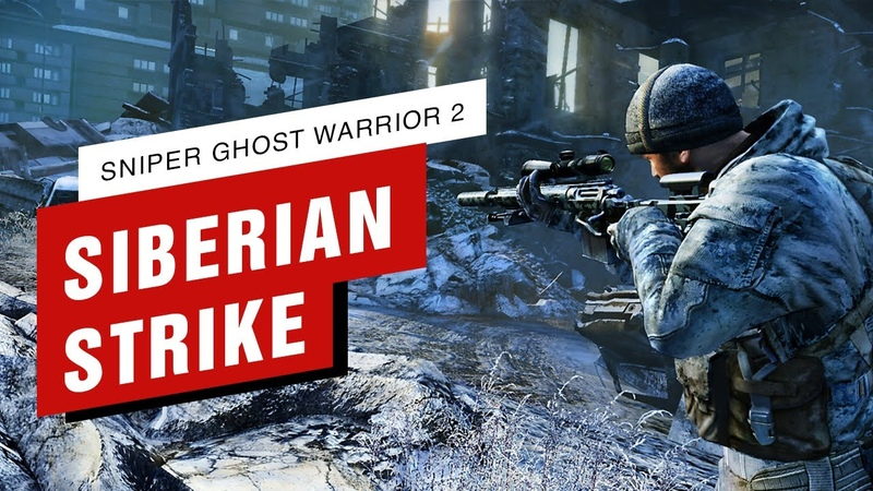 Killed All Snipers One by One - Sniper Ghost Warrior 2 Siberian Strike