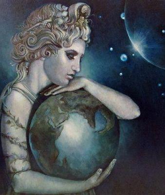 Гея - это богиня земли. Сыновья богини Геи