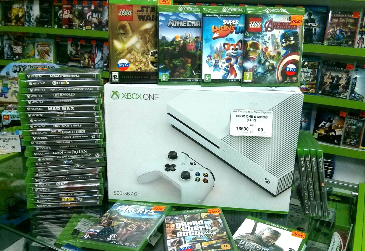 XboxOne S Новые 16690р