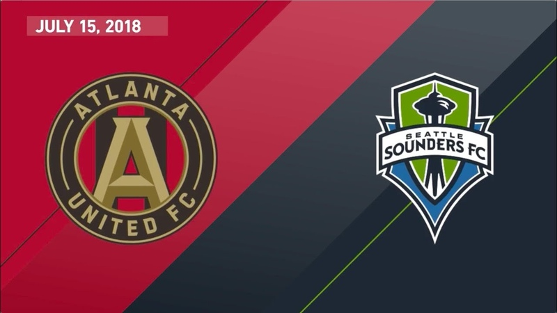 HIGHLIGHTS Atlanta United vs Seattle Sounders | July 15, 2018