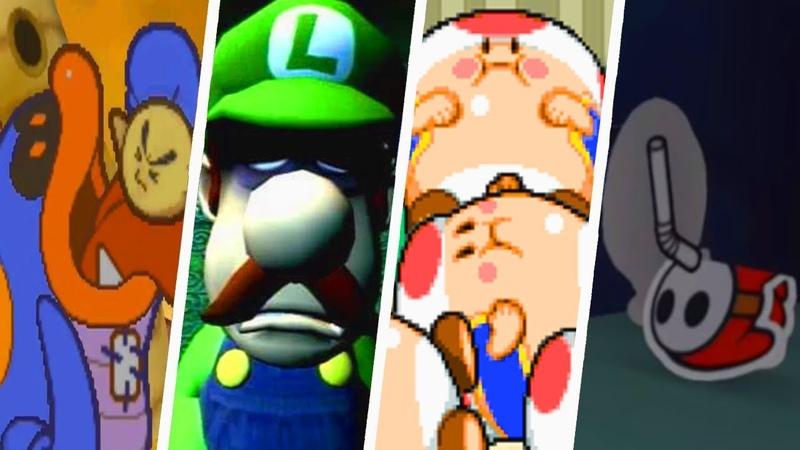 Evolution of Disturbing Super Mario Moments (1996 - 2018)