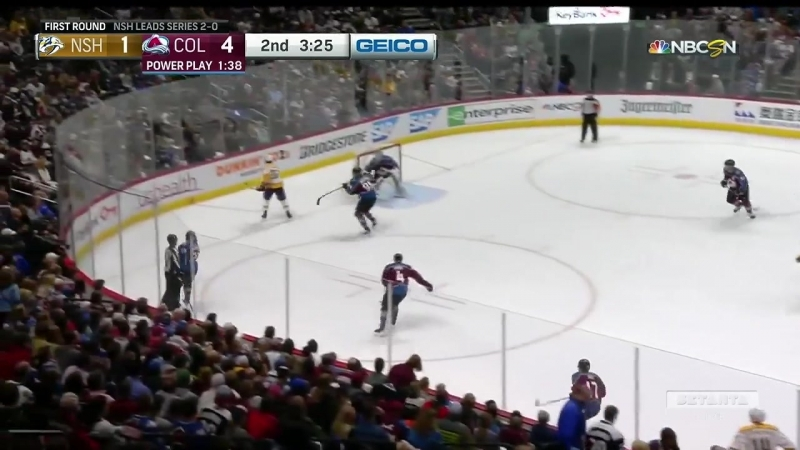 Nashville Predators vs Colorado Avalanche 16 04 2018 Round 1 Game 3 NHL Stanley Cup Playoffs 2018 Setanta Sports RU