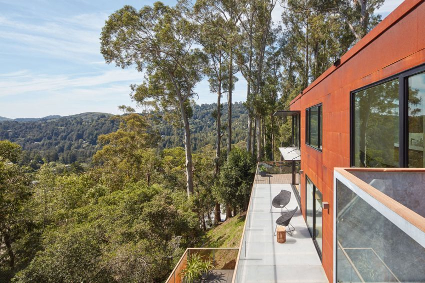 Zack de Vito Architecture   Construction Designs a Hillside House in the Mill Valley