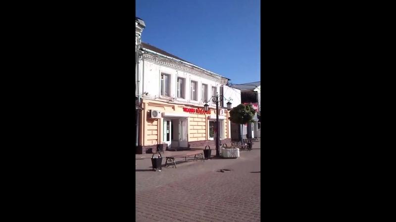 La calle del Teatro, el Arbat de Kaluga (Театральная улица, Калужский Арбат).