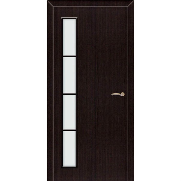 Межкомнатная дверь ЛУ Венге