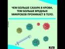 Сахар подавляет иммунную систему человека