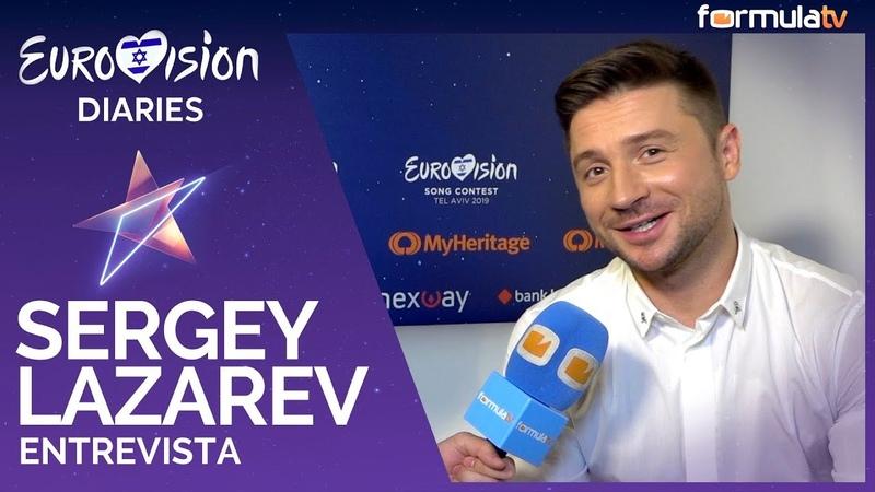 Sergey Lazarev Al principio no quería volver a Eurovisión 2019 - Entrevista