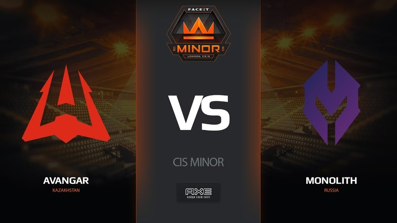 AVANGAR vs Monolith, map 2 cache, CIS Minor – FACEIT Major 2018