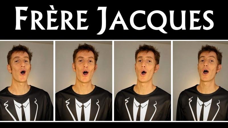 Frère Jacques French nursery rhyme Barbershop quartet