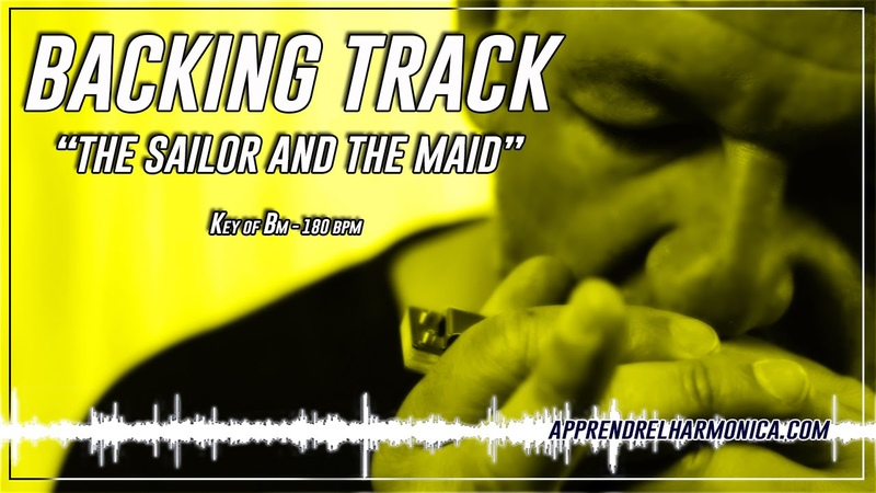 The Sailor and the Maid - Backing track - Bm - 180 bpm
