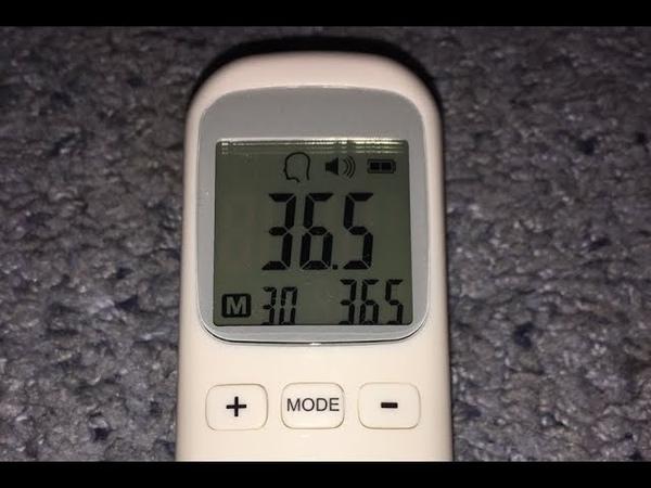 Инфракрасный бесконтактный градусник Alfawise CK-T1803