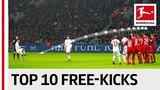 Best Free-Kicks 201718 - James, Goretzka &amp More
