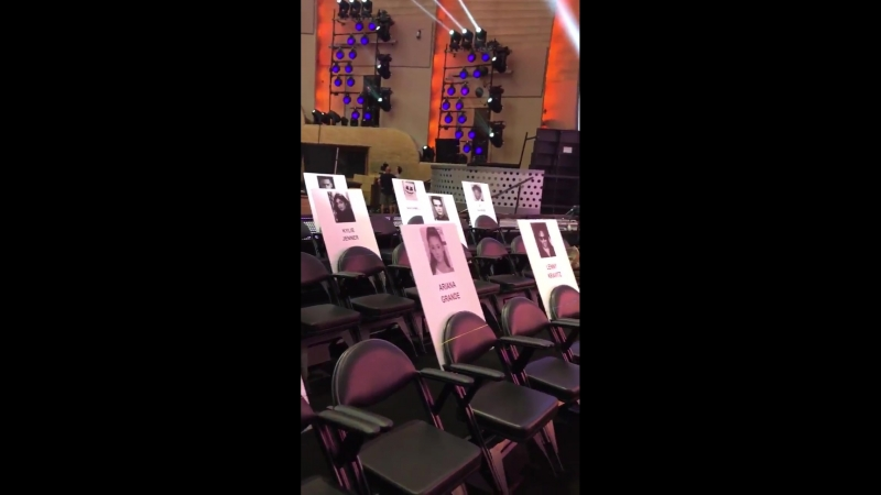 The official seating plan for the MTVVMAs including @KylieJenner @NICKIMINAJ @blakelively