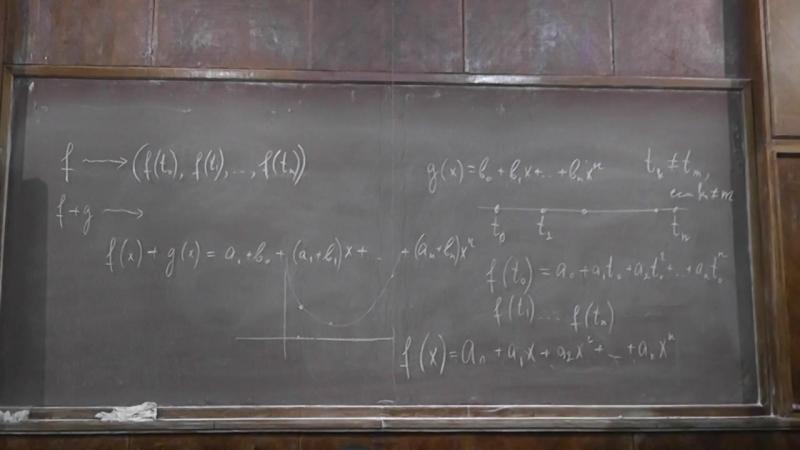 43. Векторные пространства Формула Ньютона.