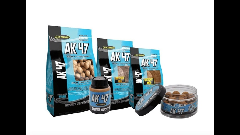 Бойлы AK47 20мм 1кг Atlantic Krill