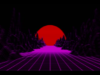 vaporwave derevo radio [blender 3d animation]