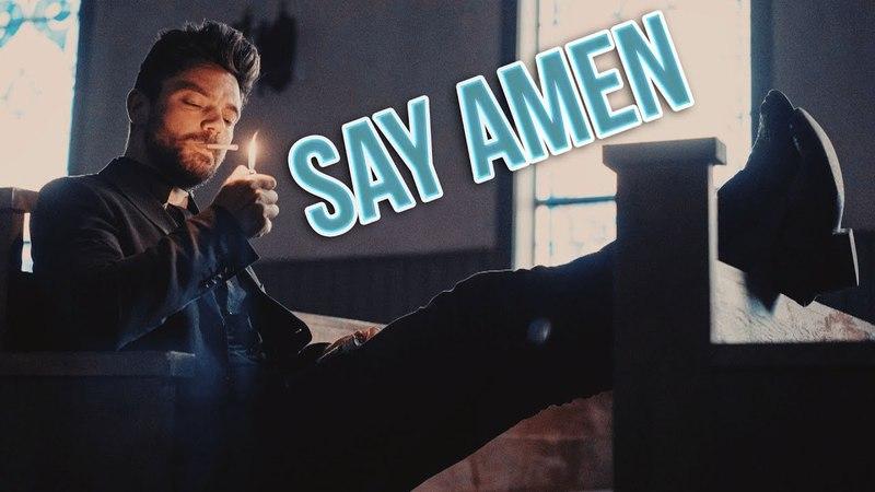 Preacher    Say Amen    Jesse Custer ( Cassidy Tulip)