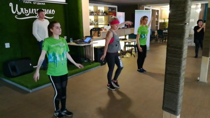 Танцы Клуба ТОНУС на СОК в Ильмурзино