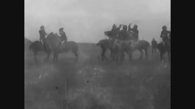 1902 Military Tournament Events- Sabre Target (Lance.V.Bayonet) Single Stick (Horseback) - England