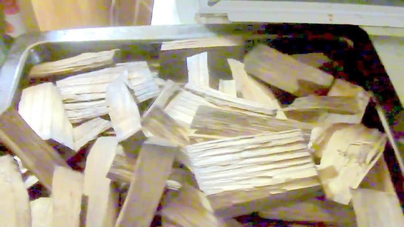 Подготовка щепы для производства коньяка в домашних условиях часть 2