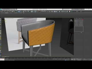 Modeling a Quilted Leather Chair in 3ds Max Part 3