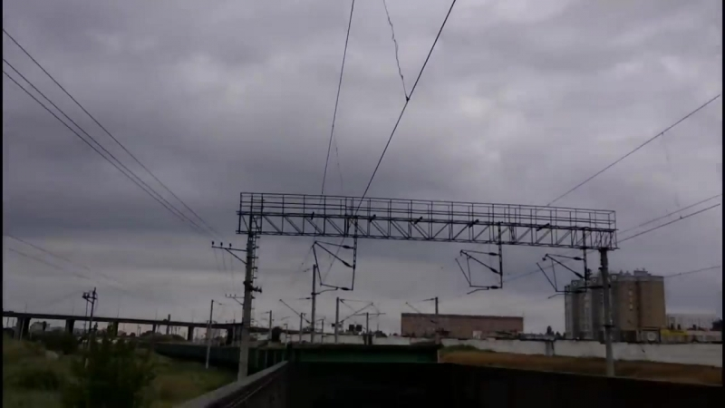 В Чечню на грузовых поездах 6 _ Волгоград-Родина Мать _ Ждал поезд 12 часов