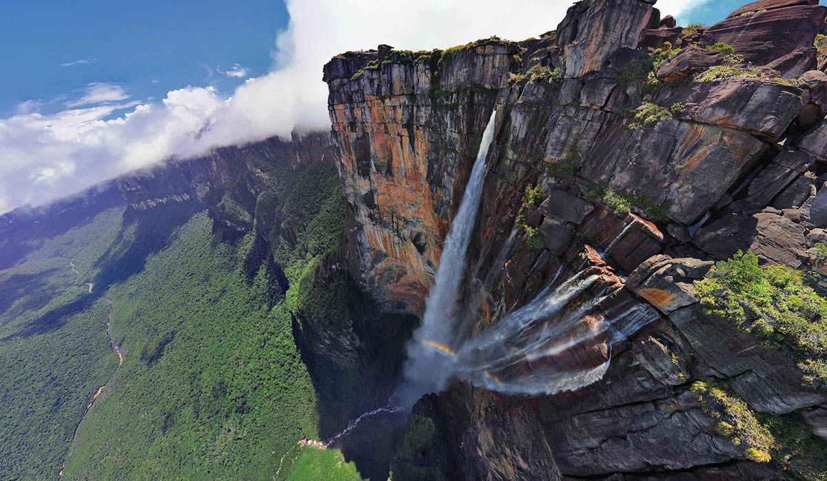 водопад анхель венесуэла