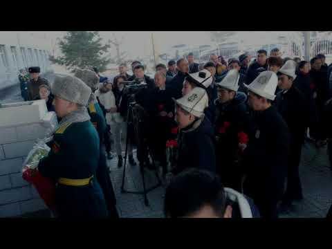 Погиб при исполнении. В Бишкеке появилась мемориальная доска погибшему спецназовцу