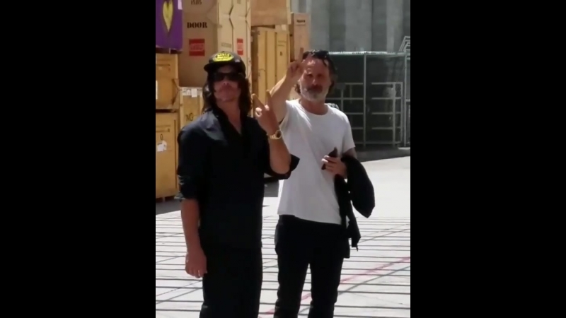 Andy and Norman at sdcc2017