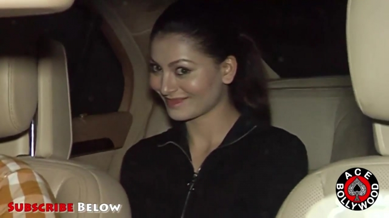 Beautiful Urvashi Rautela Spotted At HAKKASAN BANDRA