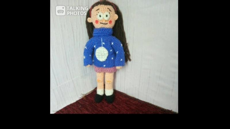 говорящая куколка Мейбл