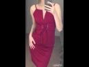 📛Цена 🍸Силуэтные платья подчеркивающие талию® 🔻Треугольное каркасное декольте🔻 ❕регулируемые лямки 👍🏻Цвета марсала