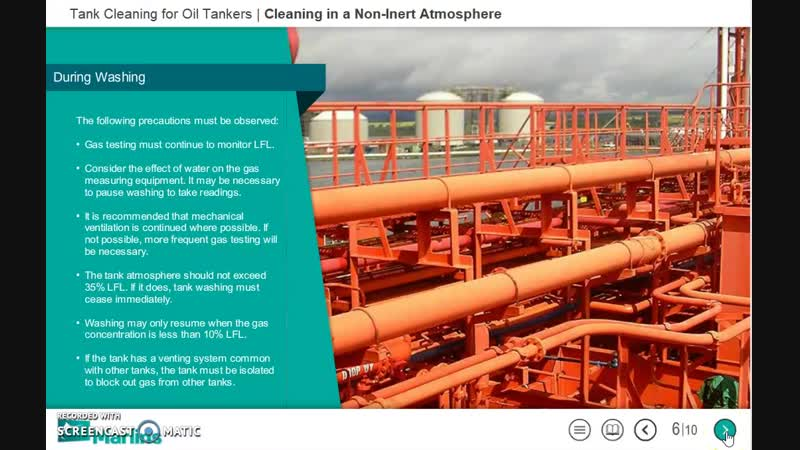 Marlins Course Tank Cleaning for Oil Tankers Part 2