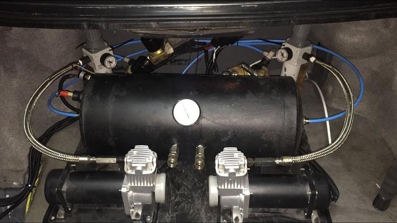 Блок подготовки воздуха , по бюджету , на Toyota Mark2 jzx81 (ep.02)