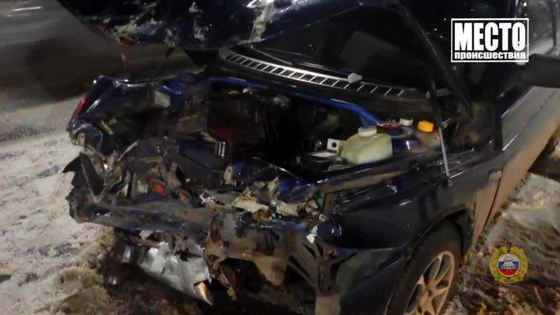 Обзор аварий. Омутнинский район, автобус и грузовик, 3 пострадавших. 21.01.2019