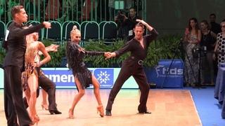 Armen Tsaturyan - Svetlana Gudyno RUS, Cha-Cha-Cha | WDSF GrandSlam Latin