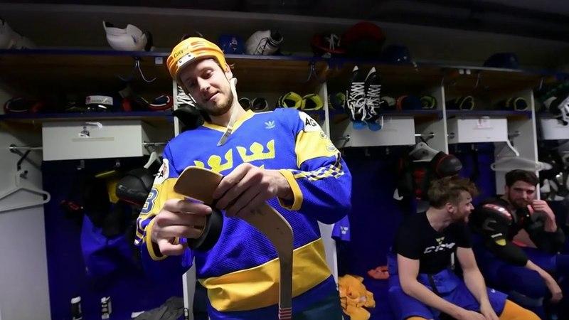 VM 2018 - Oliver Ekman-Larsson testar 80-tals hockey