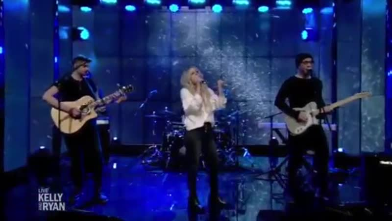 Avril Lavigne Head Above Water Live with Kelly and Ryan 2019