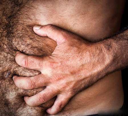 Гепатомегалия может вызвать видимый ком в кишечнике