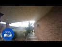 Doorbell camera spots 'GHOST' outside house!