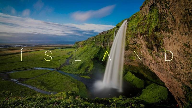 ÍSLAND   A 4K Drone in Iceland