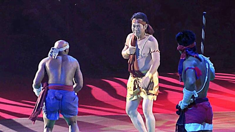 Кхмерский бокс Бокатор - показательные выступления