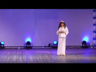 Lubna Emam. Gala show ''Star of the East'' in Krasnoyarsk, Siberia.
